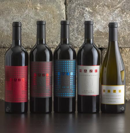 Wine Bottle Lineup